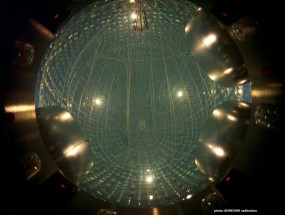 Image credit: INFN / Borexino Collaboration, of their neutrino detector.