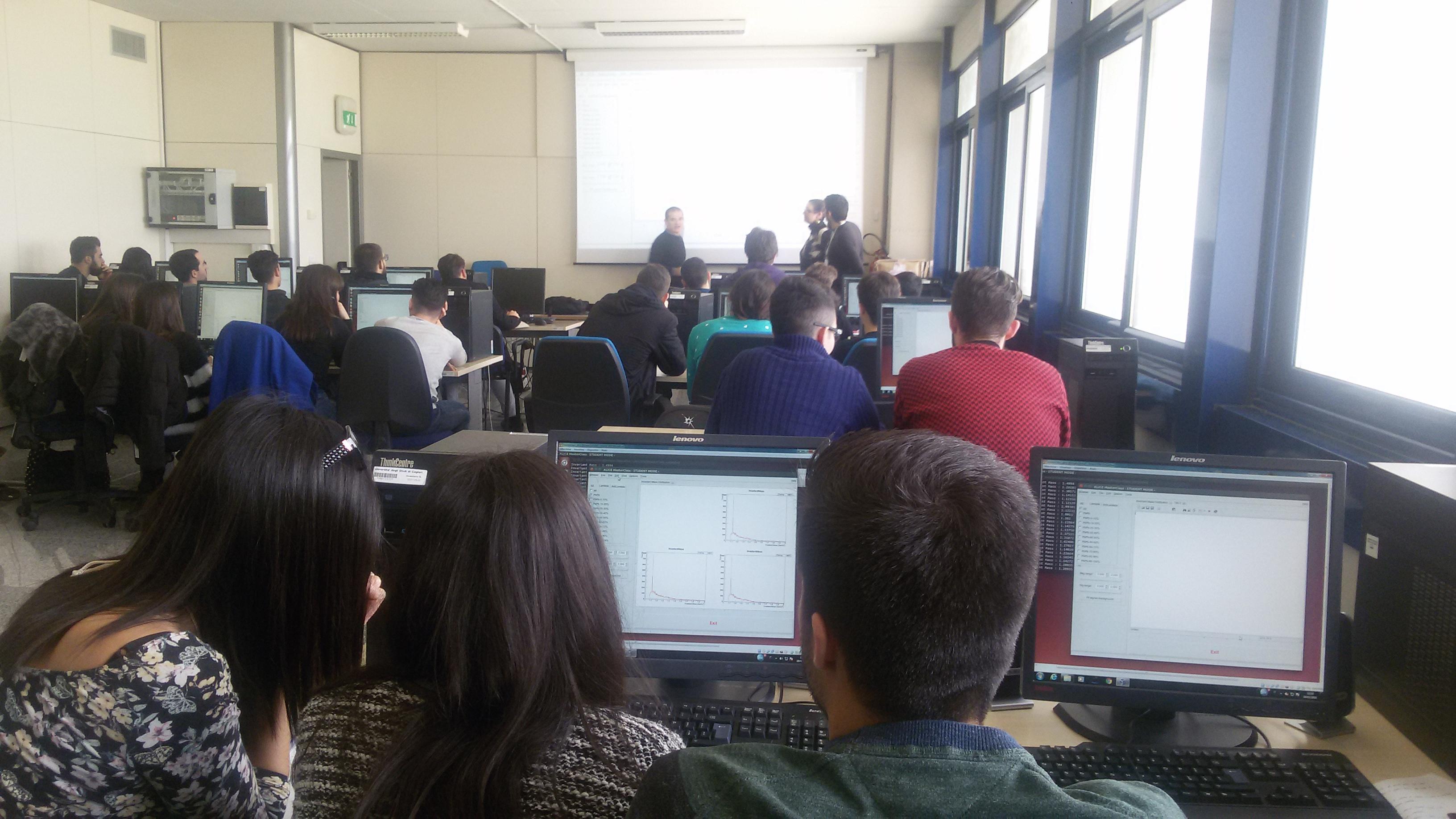 Attività sperimentale presso l'aula informatica
