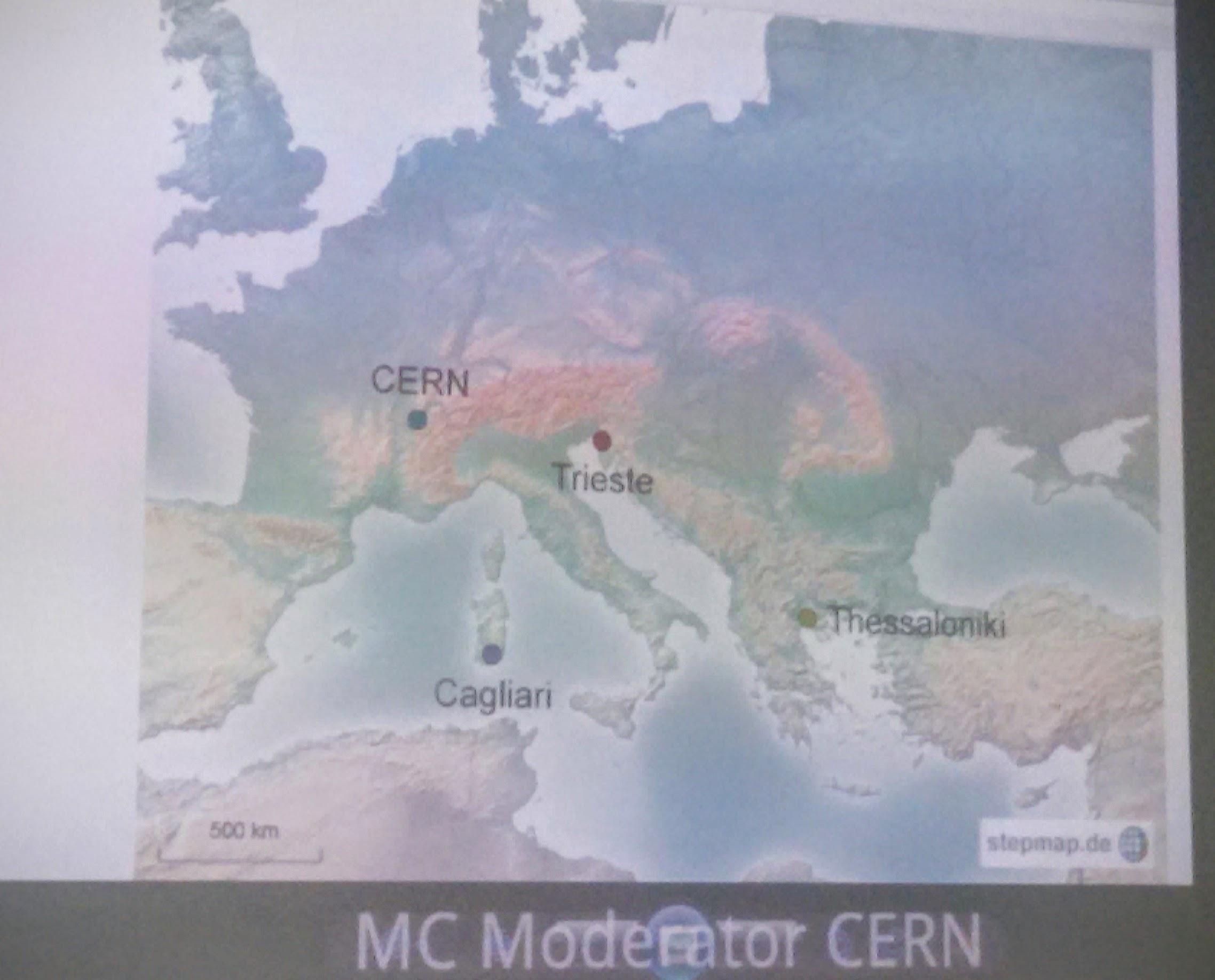 Le sedi collegate: Cagliari, Trieste e Thessaloniki