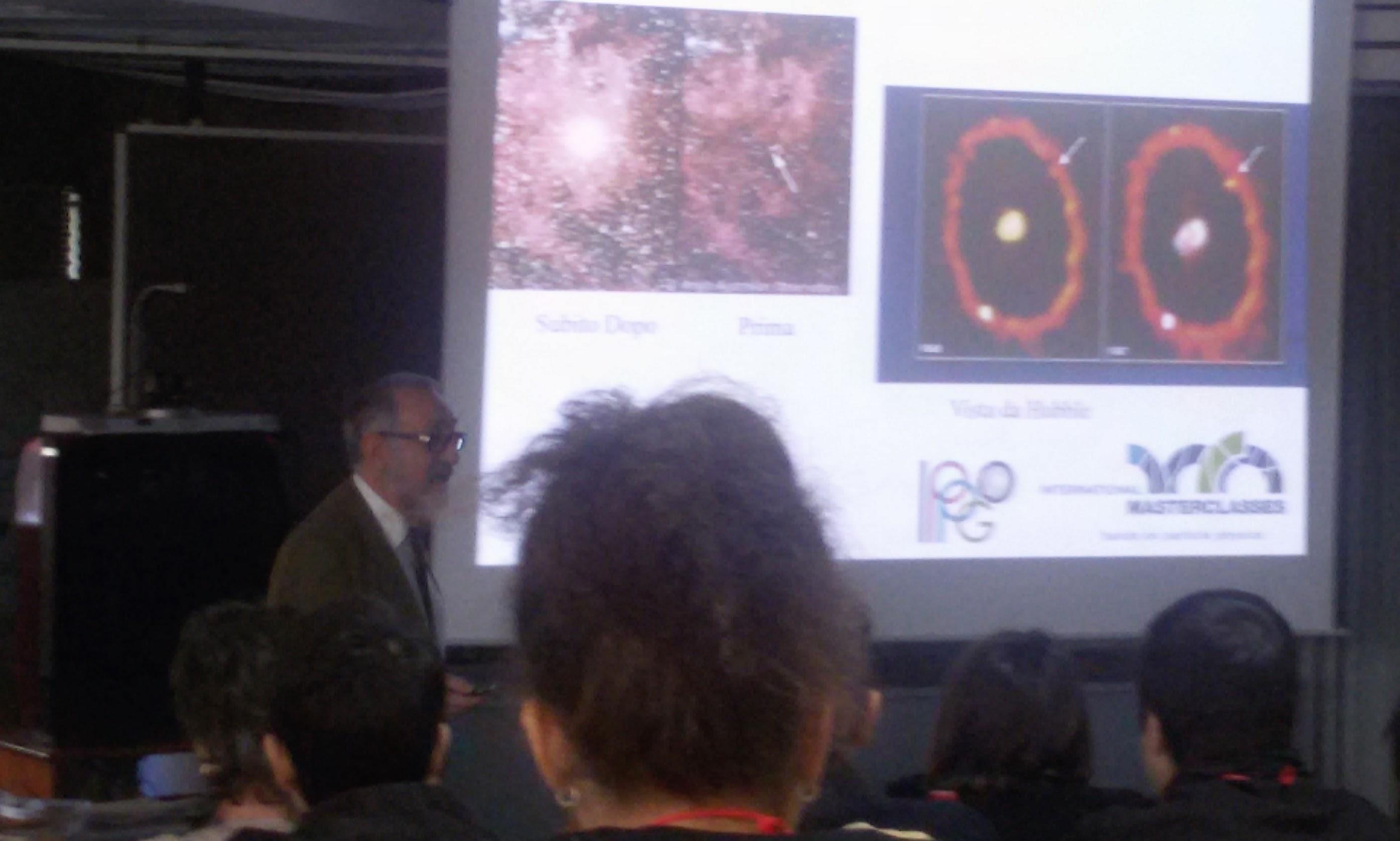 Il Professor Saitta racconta la Fisica delle Particelle ai ragazzi di Cagliari