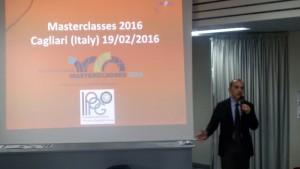 Il benvenuto del Direttore INFN di Cagliari , il Professor Alberto Masoni